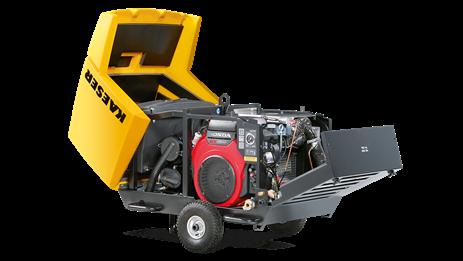 Бензиновый компрессор M17 Kaeser Kompressoren - фото 6498