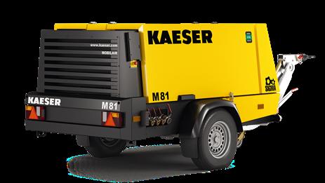 Дизельный компрессор M81 Kaeser Kompressoren - фото 6528