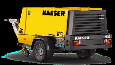 Дизельный компрессор M82 Kaeser Kompressoren - фото 6530