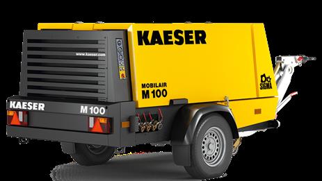 Дизельный компрессор M100 Kaeser Kompressoren - фото 6532