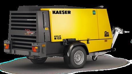 Дизельный компрессор M125 Kaeser Kompressoren - фото 6540