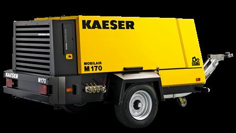 Дизельный компрессор M170 Kaeser Kompressoren - фото 6544