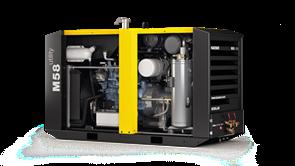 Дизельный компрессор M58 utility Kaeser Kompressoren