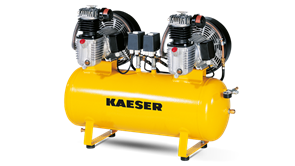 Поршневой компрессор KCD 350-350 Kaeser Kompressoren